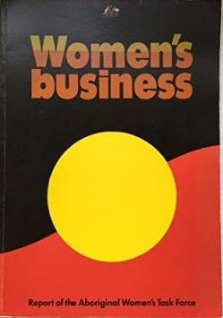 Cover of the 1986 Womens Business Report