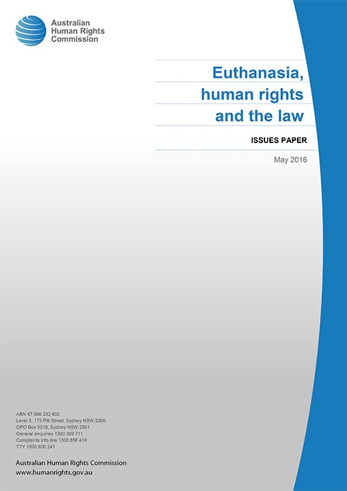 Euthanasia, Human Rights and the Law (2016)