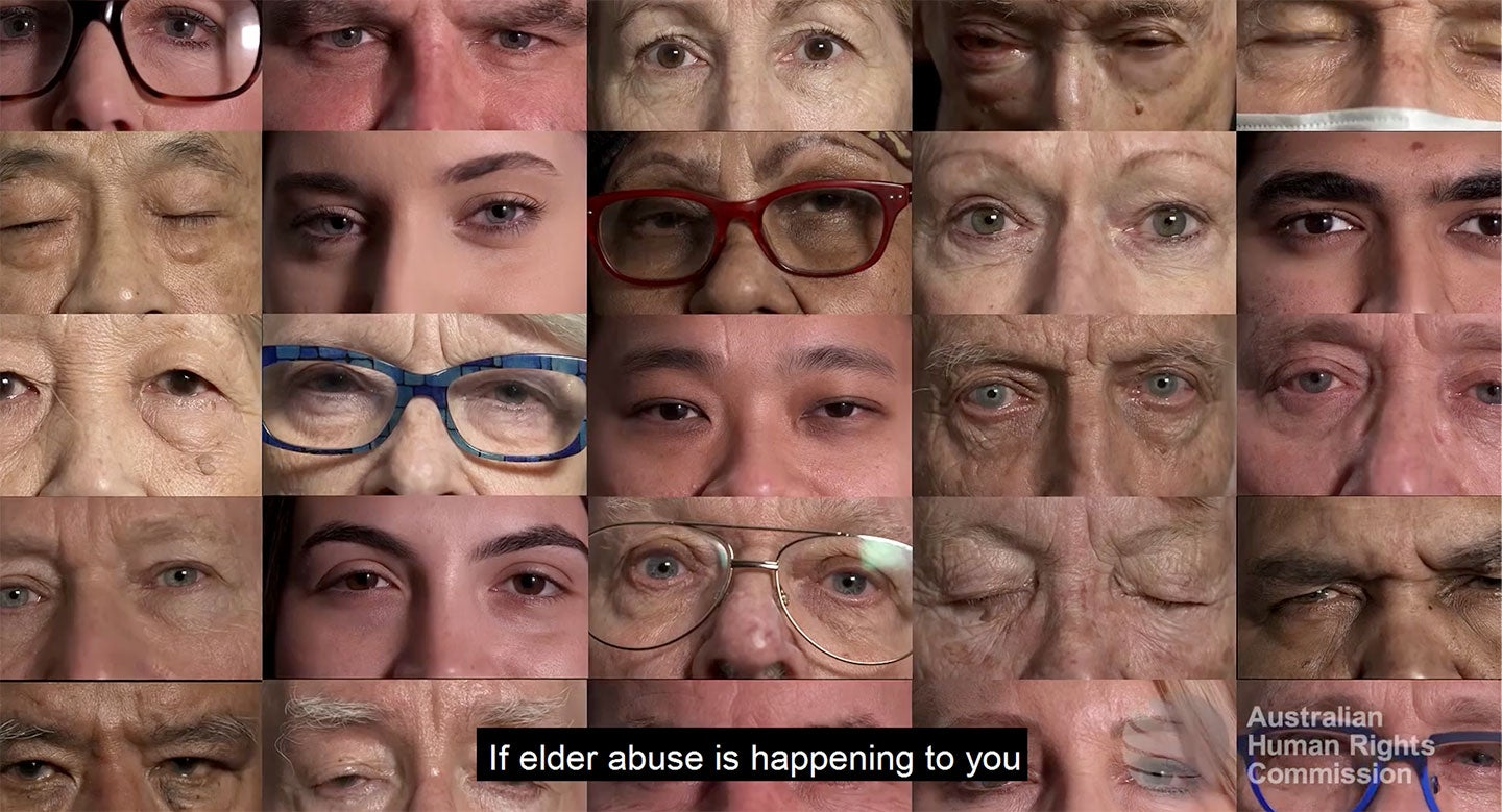 Elder Abuse. Know the signs