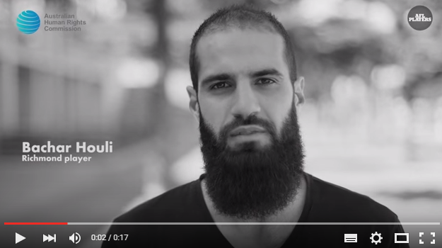 Still image of AFL PA campaign video