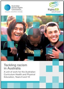 RightsEd cover - Race: Tackling racism. Year 9 - 10