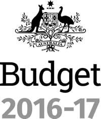 Logo: Budget 2016-2017 Australian Government