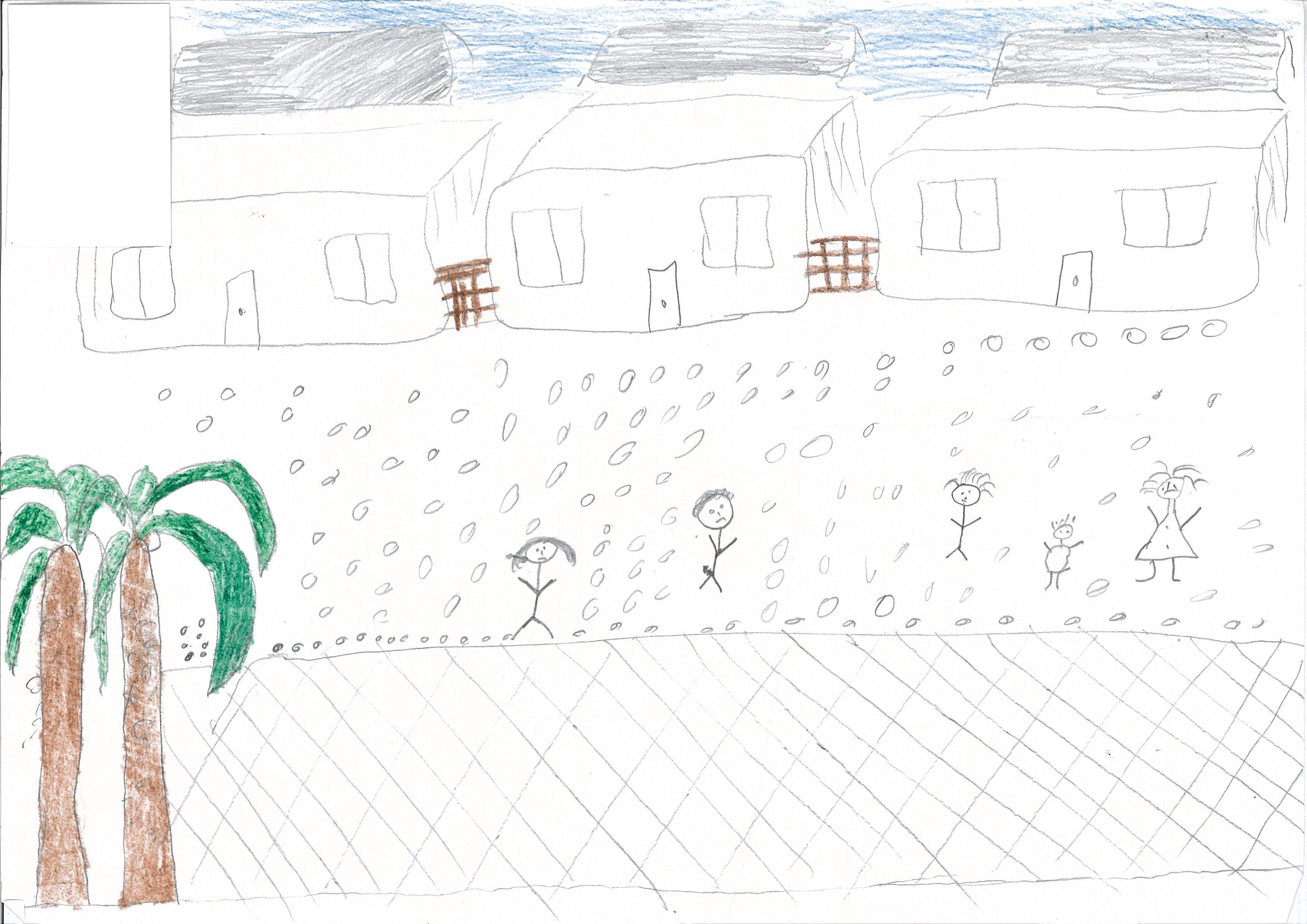 drawings by children in immigration detention