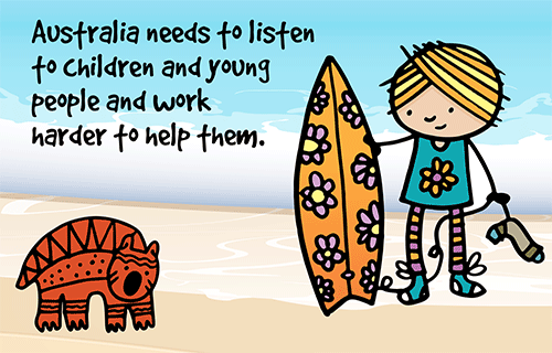 Australia needs to listen to Children and young people and work harder to help them