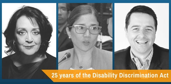 DDA 25 Speakers: Wendy Harmer, UN Rapporteur and Commissioner Alastair McEwin