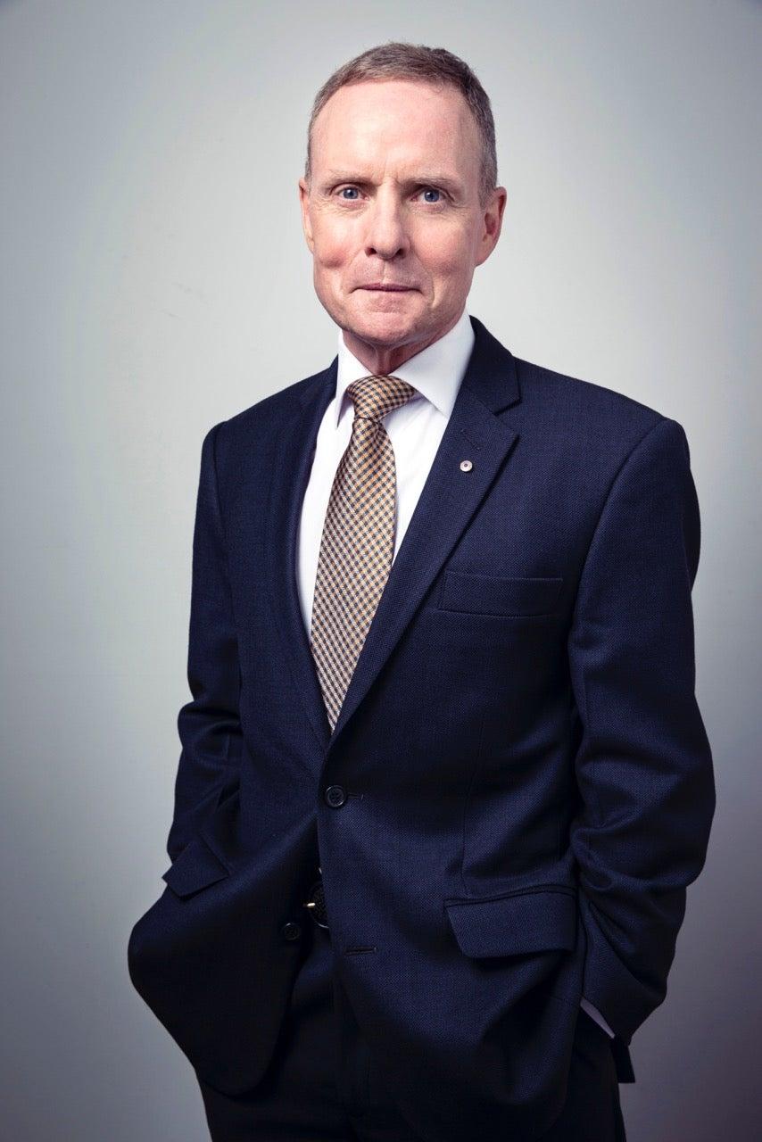 Headshot of David Morrison