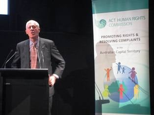 Disability Discimination Commissioner Graeme Innes