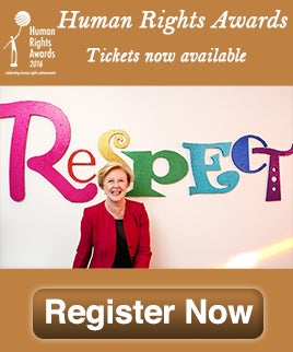 Human Rights Awards 2016 get your tickets now