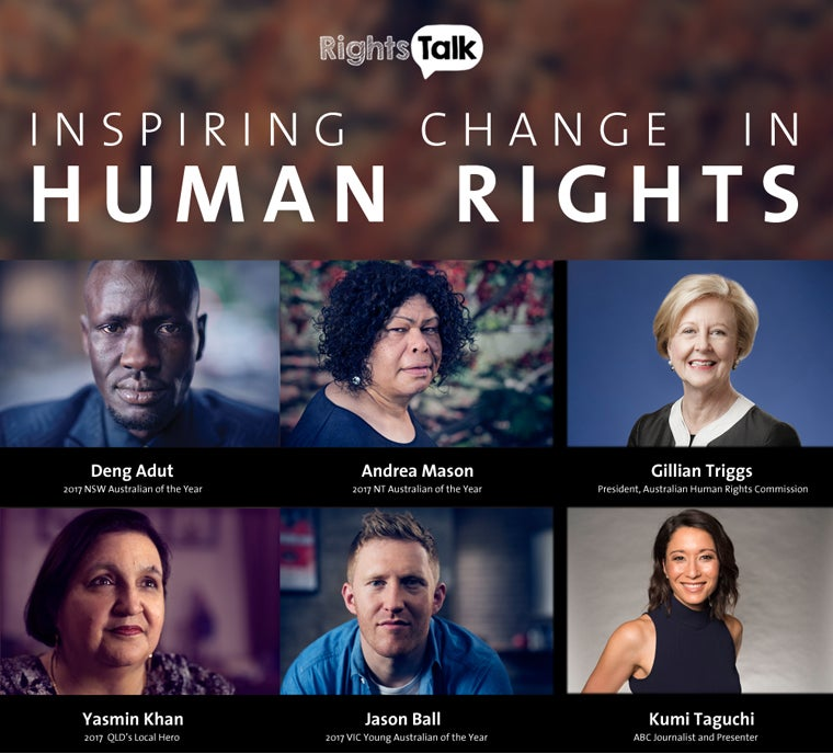 Australians Of The Year - Inspiring Change In Human Rights - 6 speakers