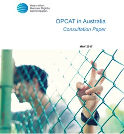 OPCAT in Australia cover