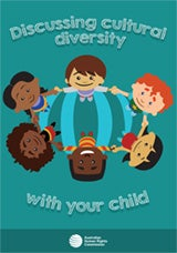 Parent flyer cover image - Discussing cultural diversity with your child