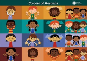 Poster - Colours of Australia