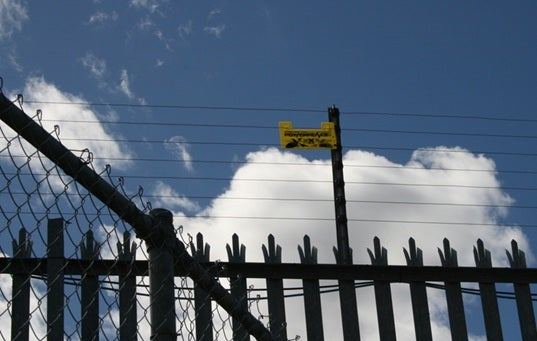 Photo of fences at Villawood IDC