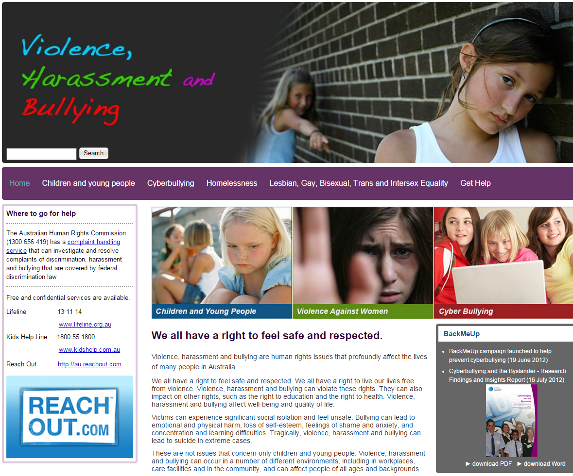 bullying and harassment Thank you for coming to the district's bullying and harassment website we take reports of bullying and/or harassment very seriously in an effort to be as.
