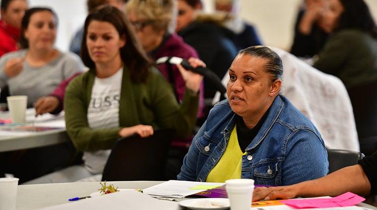 Redfern consultation - Aboriginal woman speaking
