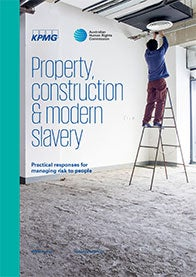 AHRC KPMG report on Modern Slavery