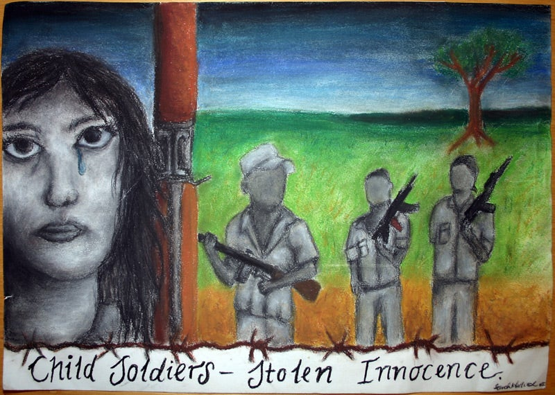 human rights child soldiers essay