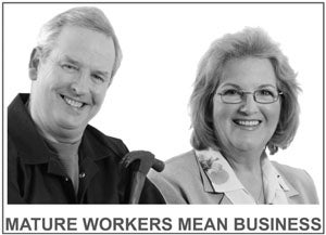 Mature Workers Mean Business