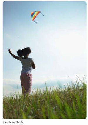 Girl flying a Kite - photo (c) Anthony Harris