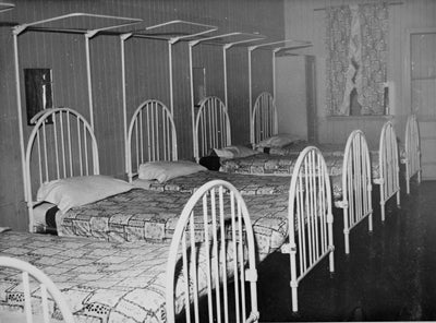 Girls Dormitory, Cherbourg 1959.
