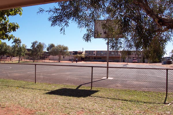 St Cecilia's Catholic school attended by children in Port Hedland, June 2002.