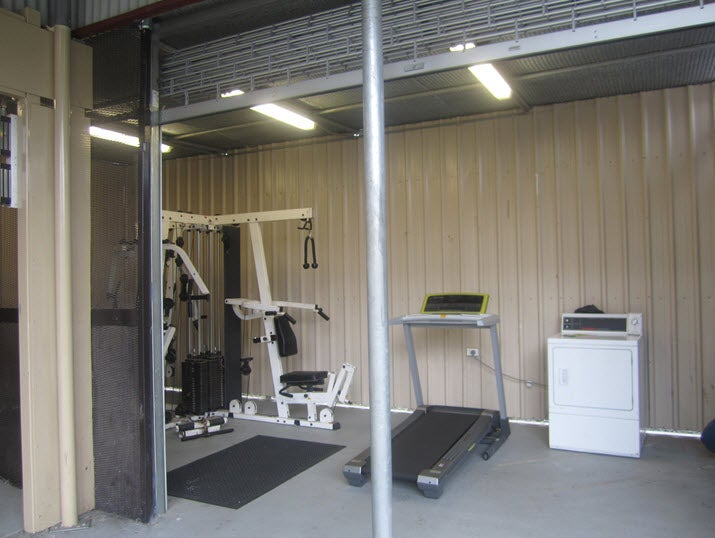 Gym, Dormitory 3, Blaxland compound, Villawood IDC