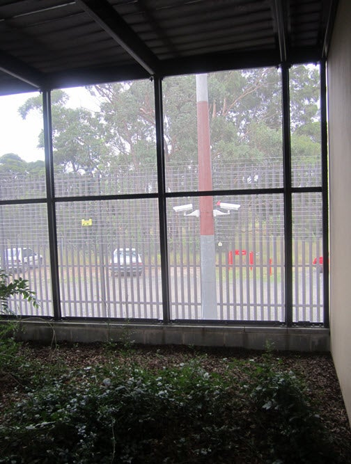 Enclosed outdoor area, Blaxland annexe, Villawood IDC