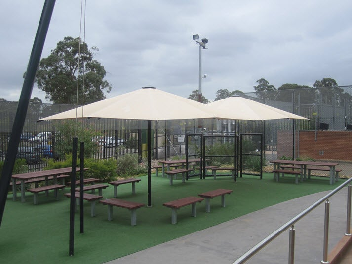 Visitors' area, Blaxland compound, Villawood IDC