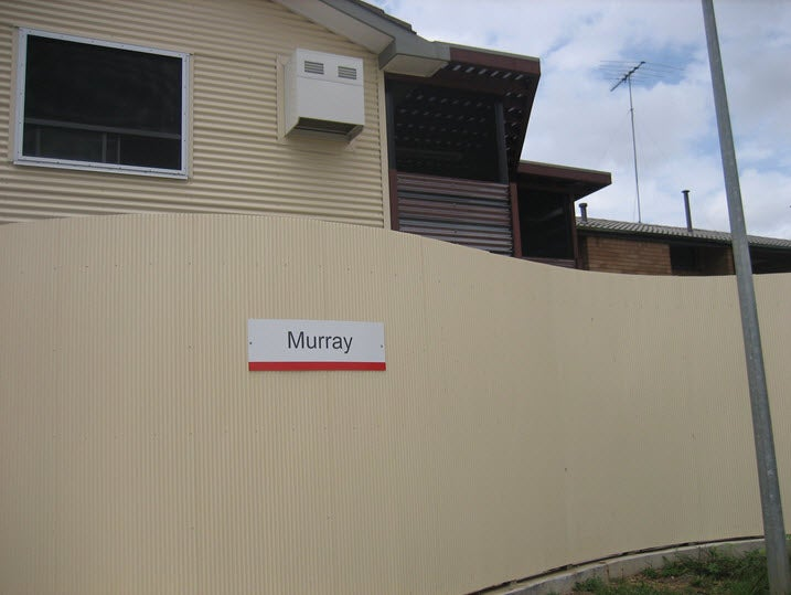 External fence, Murray Unit, Villawood IDC