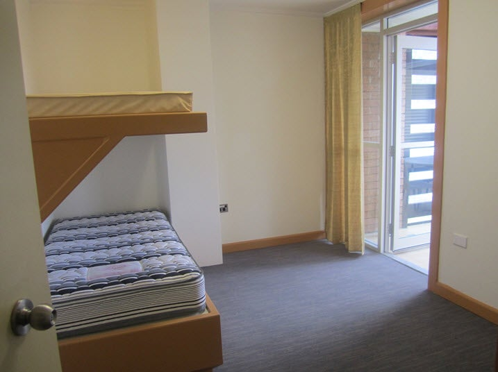 Upstairs bedroom, Murray Unit, Villawood IDC