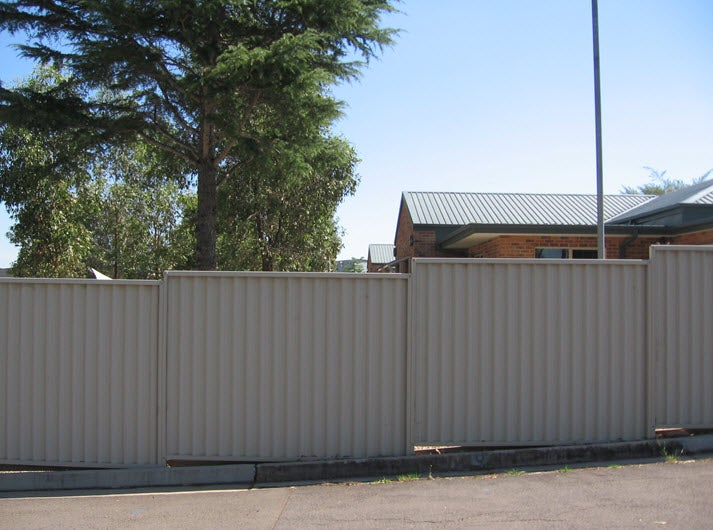 External fence, Sydney IRH (looking in to the facility)