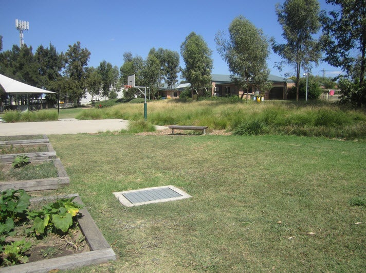 Shared recreation area, Sydney IRH