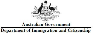 Department of Immigration and Citizenship logo