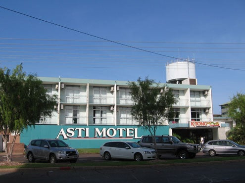 External view, Asti Motel