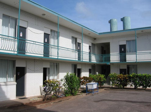 Accommodation block, Asti Motel