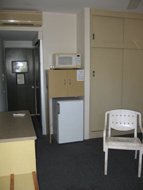 Recreation room, Asti Motel