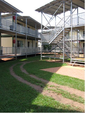 Accommodation block, Airport Lodge