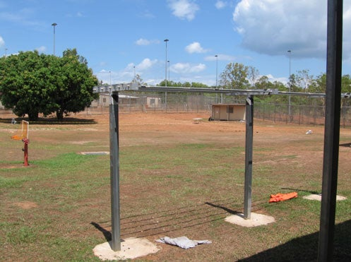 Soccer pitch, North 1 compound, NIDC