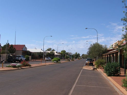 Photo: Main street, Leonora township