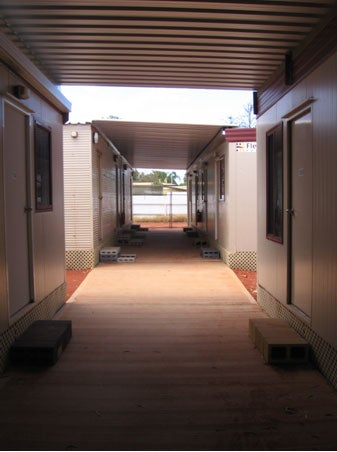 Accommodation block, Leonora immigration detention facility