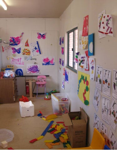 Old crèche room, Leonora immigration detention facility