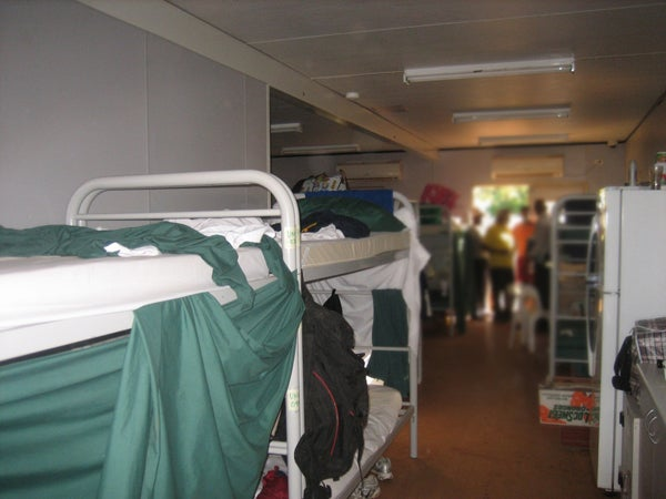 Dormitory bedroom, Curtin IDC
