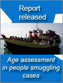 Inquriy now open - Age assessment in people smuggling cases