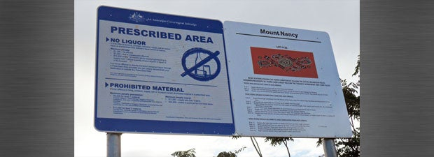 NT Intervention signs