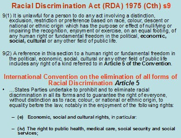 racial discriminatory views of indigenous australians Facts about racism in australia 8: the outlaw of racial discrimination any forms of racial discrimination are prohibited in australia in the public field the human rights and equal opportunity commission act (1986) and the commonwealth racial hatred act (1995) are some legislations, which outlaw the racial discrimination.
