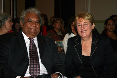Tom Calma and The Hon Jenny Macklin