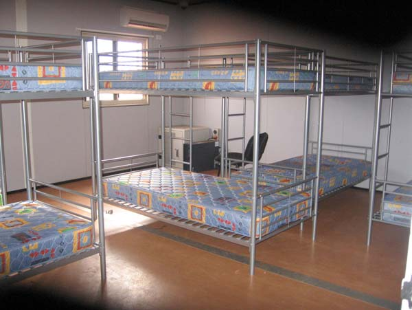 Description: Dormitory bedroom, Curtin IDC