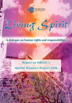 Living spirit report (2008) cover