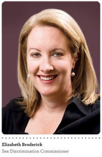 Elizabeth Broderick - Sex Discrimination Commissioner