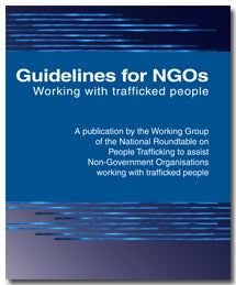 Guidelines for NGOs Working with trafficked people